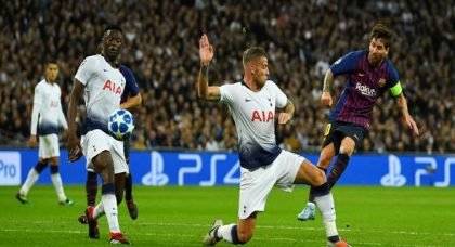 Tottenham fans react to Wanyama display v Man City