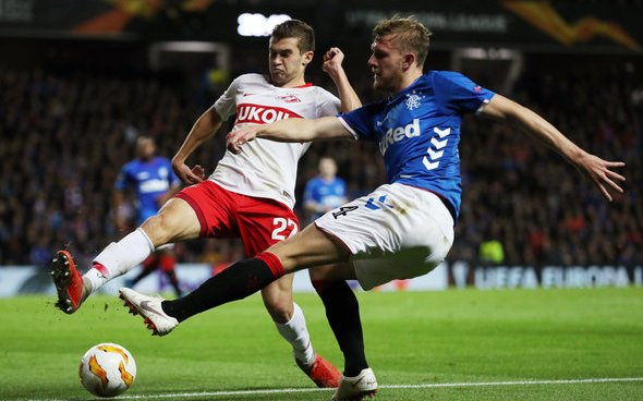 Image for Joe Worrall sends Rangers a departing message