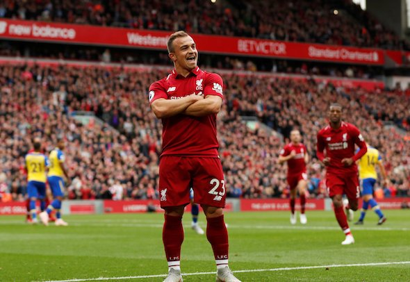 Crouch: Shaqiri is an exceptional talent