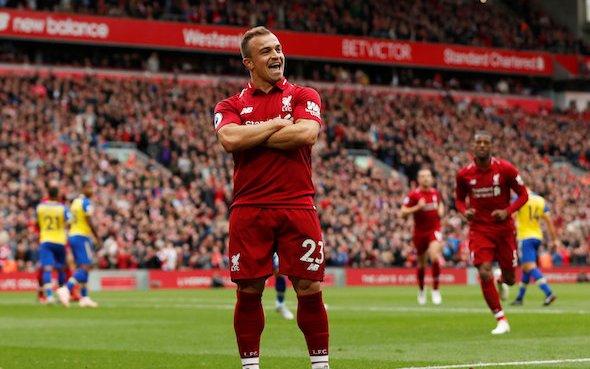 Image for Liverpool: Xherdan Shaqiri linked with Lazio and Napoli