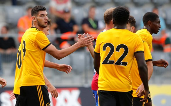 Image for Wolves: Spiers questions Rafa Mir's future