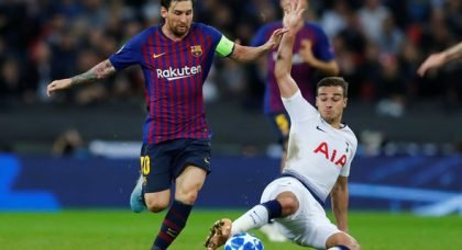 Tottenham fans want Messi in exchange for Llorente