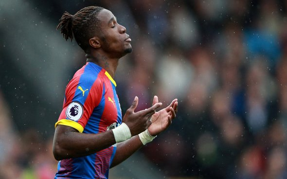 Image for Crystal Palace: Cook delivers verdict on how Zaha has appeared in pre-season