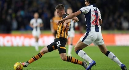 Newcastle and Leicester want Hull midfielder Henriksen