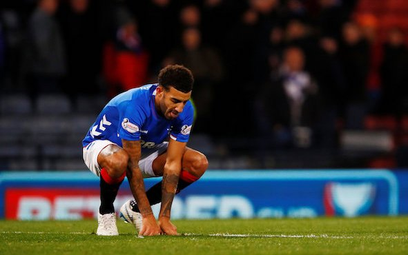 Image for Rangers: These fans think tackle on Connor Goldson was worthy of a red card