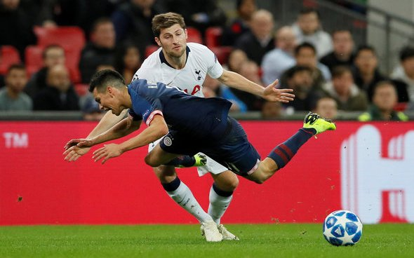 Image for Tottenham Hotspur: Fans react to claims about Ben Davies