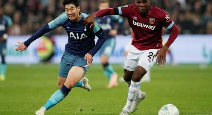 Ogbonna will be worried about impending Balbuena return