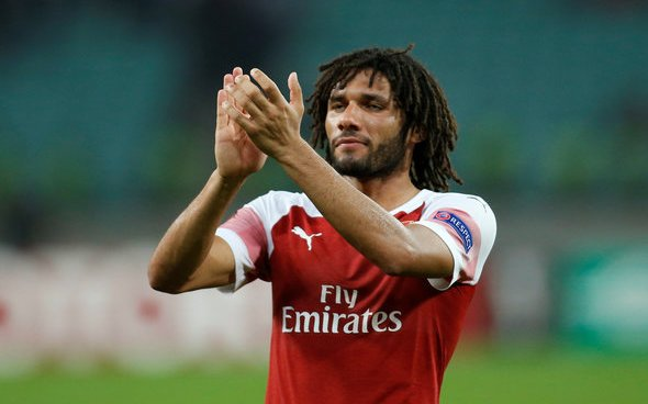 Image for Arsenal: Chris Wheatley claims club 'bat away an inquiry' for Mohamed Elneny this summer