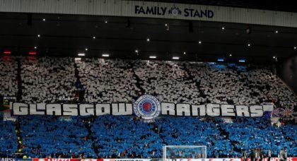 Rangers fans react to what Celtic fans did in win v Kilmarnock