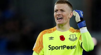 Everton's pursuit of Cillessen is connected to Man Utd getting Pickford