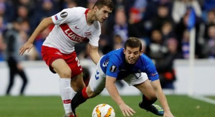 Rangers fans react to Flanagan starting v Villarreal