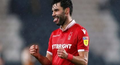 Nottingham Forest fans applaud Yacob display v Sheff Utd
