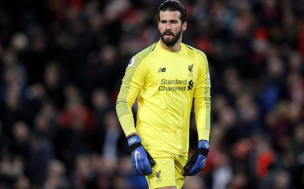 Image for Amazing Alisson saved Liverpool