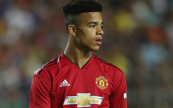 Image for Manchester United: Steve Freeth claims Mason Greenwood's best position is not centre-forward