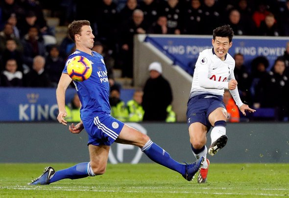 Bent blown away by Heung-min Son