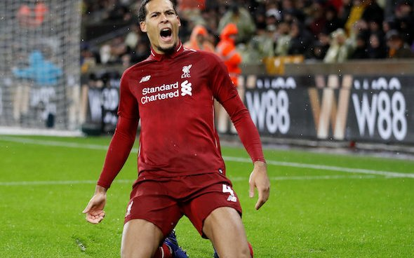Image for Liverpool: Theo Squires claims Virgil Van Dijk's return will give the team 'extra 10%'