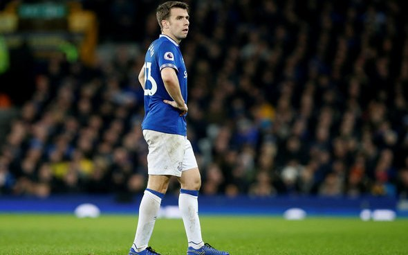 Image for Everton: Greg O'Keeffe disappointed after Seamus Coleman injury