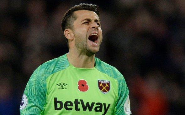 Image for West Ham fans in awe of Fabianski