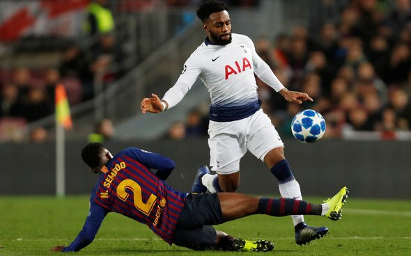 Image for Tottenham Hotspur: Spurs fans react to Danny Rose latest