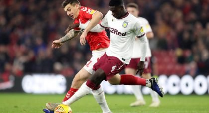 Hutton back Villa to land Tuanzebe
