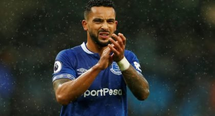 Walcott on Everton fans: They're massive, 100%