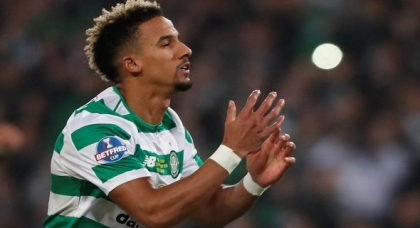 Celtic fans drool over Sinclair display v Motherwell
