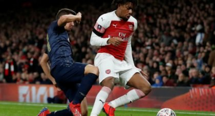 Arsenal fans fume at Iwobi after nose stand-off