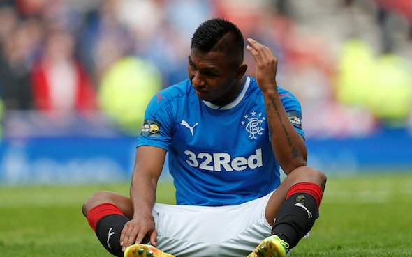 Image for Rangers: Alison McConnell has concerns over Alfredo Morelos' fitness