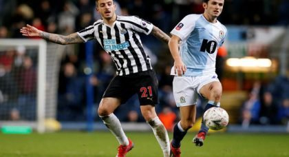 Newcastle:  Some fans praise Joselu on goal-scoring record