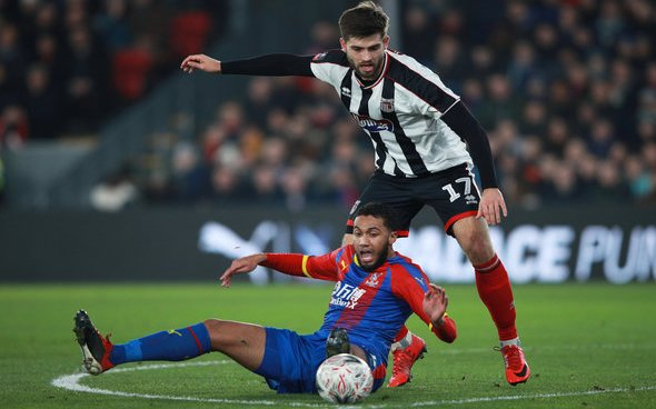 Image for Crystal Palace: Cook talks up Riedewald's future under Vieira