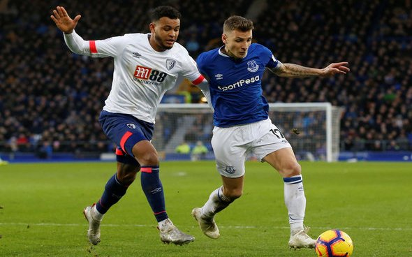 Image for Everton: Fans slam transfer report linking Lucas Digne with Olympique Lyonnais with Lucas Digne