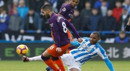 City fans tear into Gundogan v Huddersfield