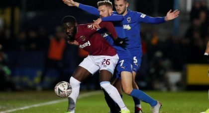 West Ham United: Arthur Masuaku still has a role to play for Hammers