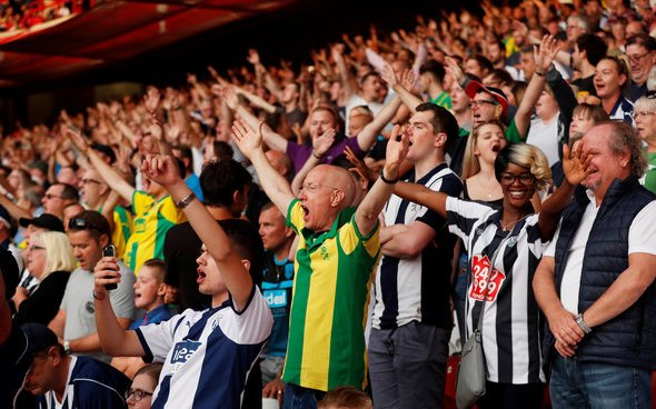 Image for West Brom fans want Blackburn boss Mowbray back at Hawthorns