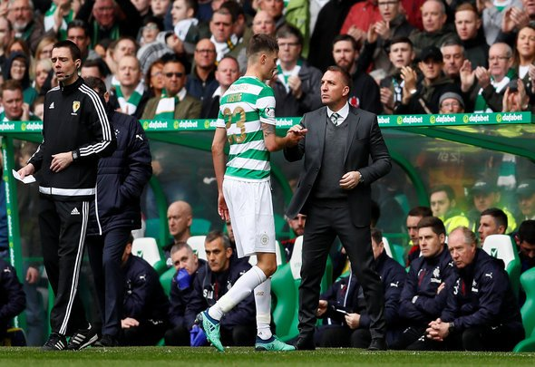 Lustig will be sweating over Toljan display