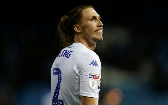 Image for Leeds United: Beren Cross discusses Luke Ayling's injury situation