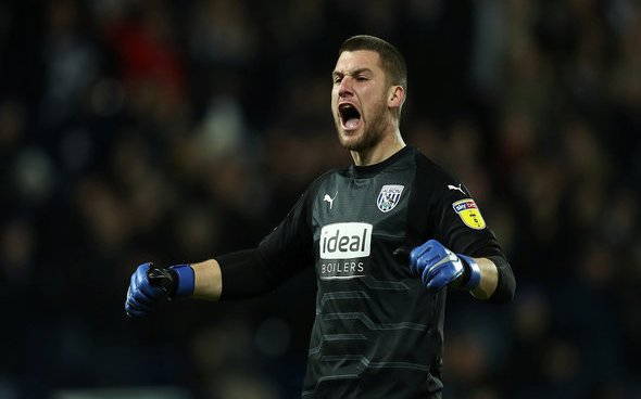 Image for Exclusive: Carlton Palmer alleges West Brom will insert release clause if Sam Johnstone signs new deal