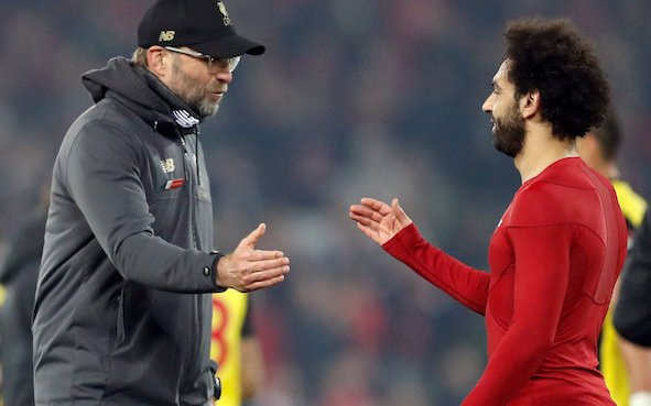 Image for Liverpool: Journalist discusses potential new Mohamed Salah contract