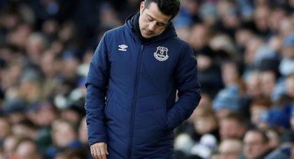 Everton fans react to potential Silva punishment