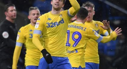 Leeds fan blast Bamford first half v Brentford