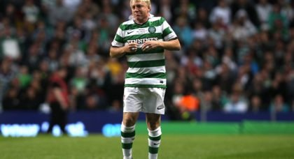 McAvennie wasn't happy with Brown's second yellow