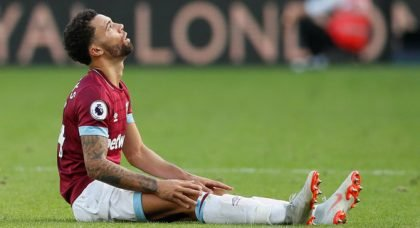 West Ham fans up in arms over Fredericks snub