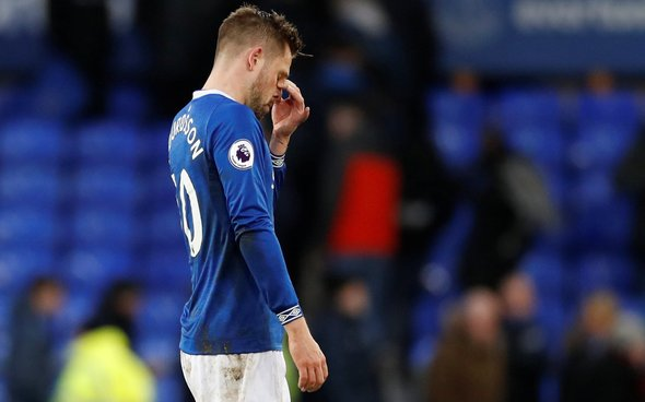 Image for Everton: Gylfi Sigurdsson comes in for great praise for his role in Liverpool victory