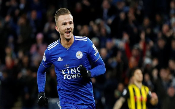 Image for Leicester City: Dean Jones discusses James Maddison's future