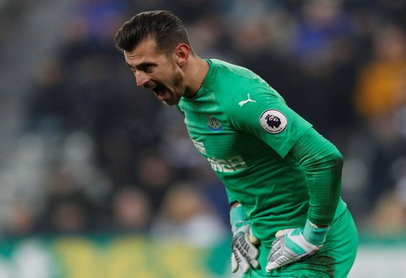 Dubravka reveals joy after becoming Magpies mainstay