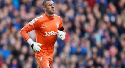 Rangers: Barry Ferguson thinks Allan McGregor is the best goalkeeper in the league