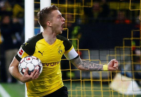 Reus likely to miss clash v Tottenham
