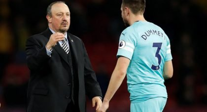 Benitez sent Ashley wish list as future remains uncertain
