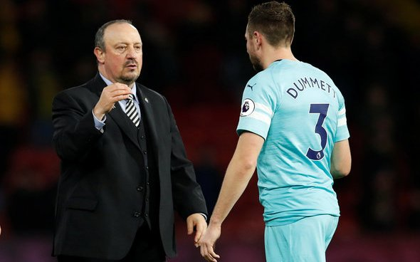 Image for Newcastle must not leave out Barreca and Dummett