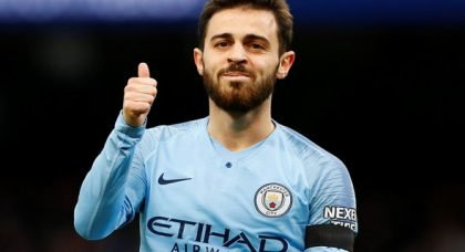 City fans drool over Bernardo Silva v Swansea